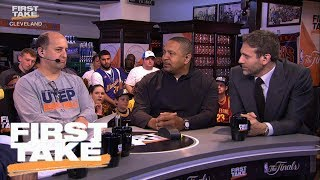 Jeff Van Gundy And Mark Jackson On NBA Players Transcending Eras | First Take | June 8, 2017