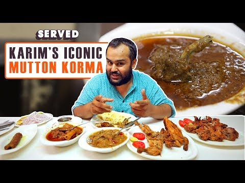 Exploring Karim's Mutton Korma & Mughlai Cuisine | Delhi Street Food | Served#04