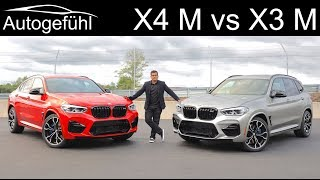 BMW X3M Competition vs BMW X4M Competition FULL REVIEW - Autogefühl
