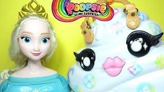 Pooey Puitton Surprise ile Karlar Kraliçesi Elsa için Slime Yapıyoruz | Zep'in Oyuncakları