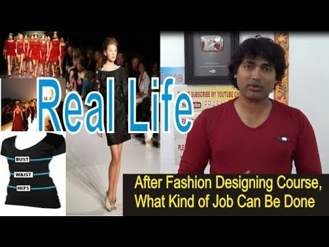 scope of fashion designing job | careeres in fashion designing | fashion designing course