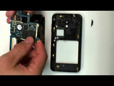 Samsung Galaxy S 2 Dissassembly and screen repair