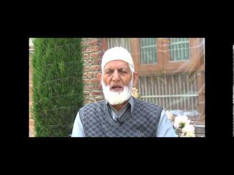Dars e Islam Kashmir Chairman Hurriyat (G)  kashmir Syed Ali Shah Geelani ( tna news Kashmir)part2