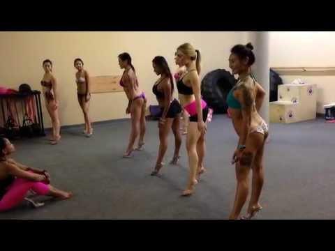 The Art Of Figure And Bikini Posing Clinic September 14, 2014 video