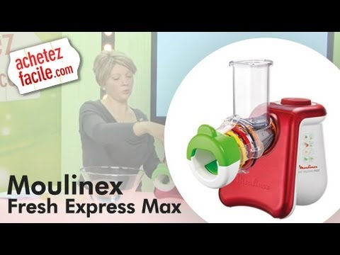 Test moulinex fresh express max dj 810510 youtube - Robot moulinex fresh express ...