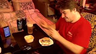 """SAM SPICY"""" vor silvester training video mit trible chilli cheese burger & drei bier"""" acid edition"""