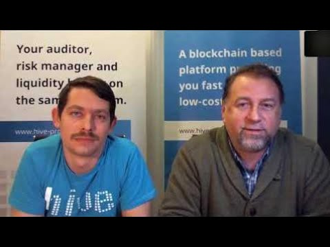 """ Blockchain technology is the evolution of what we have been running on"" Domen & Dejan, HVN"
