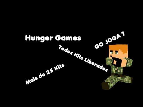 Servidor HungerGames - pirata/original - Todos Kits Liberados - Mais de 25 Kits