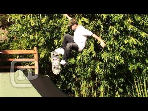Mini Ramp Session At Danny Way's With Ryan Gallant And Ryan Smith