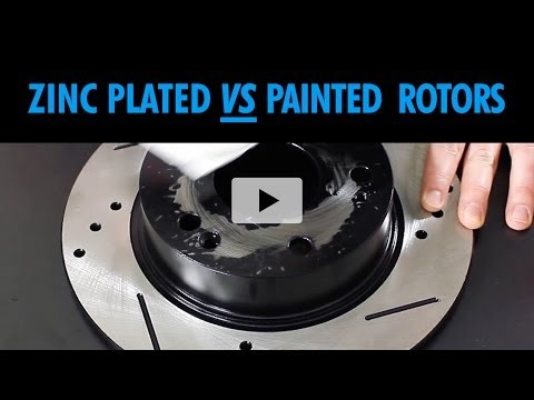 Painted vs Plated Brake Rotors Product Review Comparison   BrakeMotive