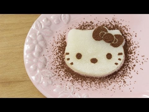 How To Make Hello Kitty Mochi! video