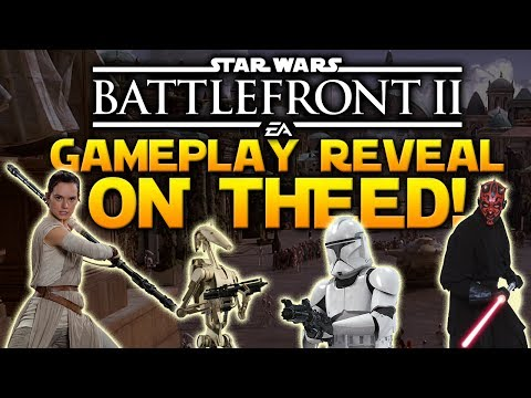 THE ASSAULT ON THEED -  Star Wars Battlefront II Gameplay Reveal Announcement
