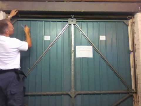 Henderson Merlin Garage Door How To Add Tension To The