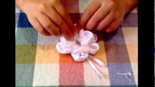 Cooking | Tutorial Rosa di raso ♥ Rose of satin | Tutorial Rosa di raso ♥ Rose of satin