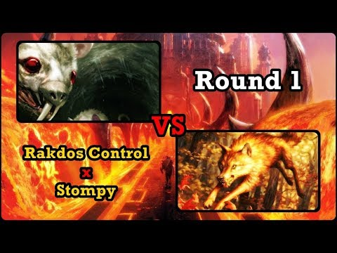RAKDOS DELVER X STOMPY - Round 1 Pauper League