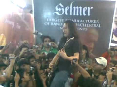 Through the Fire&Flames - Herman Li - Ibanez Guitar Clinic - Mumbai