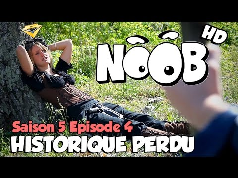 NOOB : S05 ep04 : HISTORIQUE PERDU