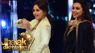 Rani Mukherjee promotes Mardaani on Jhalak Dikhhla Jaa 7 26th July 2014 Episode
