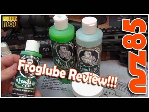 AR-15 - My Opinion On Froglube - Froglube Review