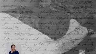 მაგდა პაპიძის წერილი ნანუკა ჟორჟოლიანს - Video