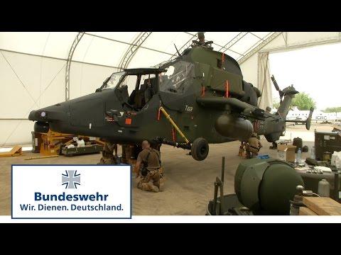 Verlegung Kampfhubschrauber Tiger nach Mali - Bundeswehr thumbnail