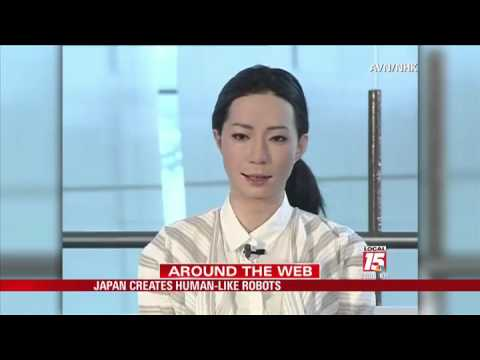 Japan Creates Human-Like Robots