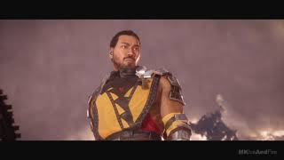 D'Vorah Kills Scorpion Scene - Mortal Kombat 11