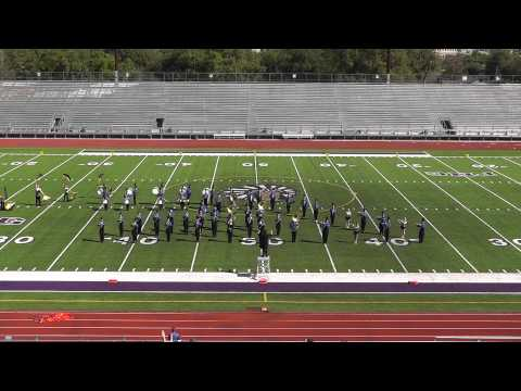 Hamshire-Fannett High School Band 2012 - UIL Region 10 Marching Contest