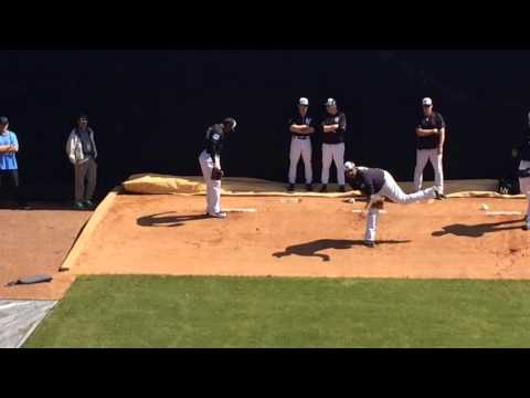 Yankees' Aroldis Chapman throws first bullpen of spring training