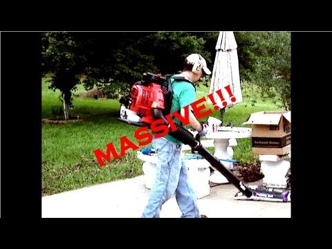 Lawn Care Business RedMax Backpack Leaf Blower Review