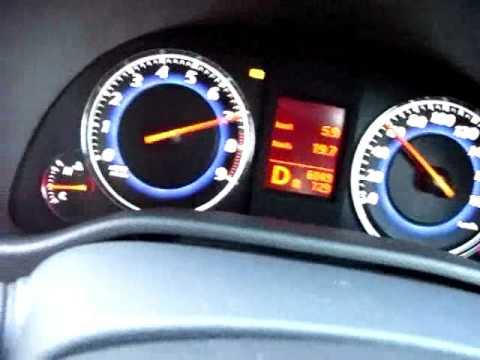 INFINITI G35 / V36 SKYLINE 350GT 0-100km/h acceleration