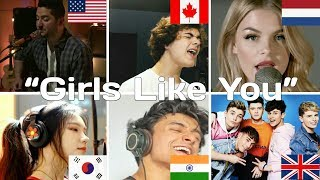 Who Sang it Better   'Girls Like You' (India, USA, Canada, UK, Netherlands, South Korea)