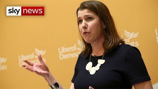 Jo Swinson's first speech after becoming the new Liberal Democrats leader