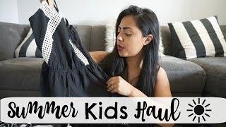 Summer Kids Clothing Haul!