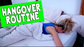 MY HANGOVER ROUTINE // Grace Helbig