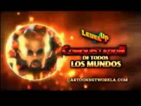 cartoon network la level up conquistadores de todos los mundos juego