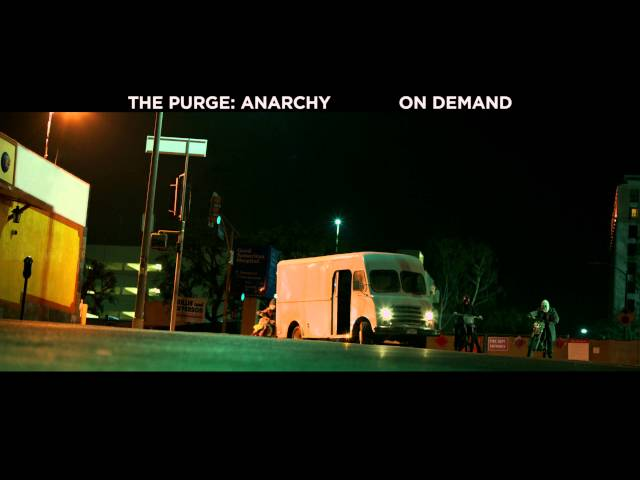 The Purge: Anarchy - On Demand & Digital HD