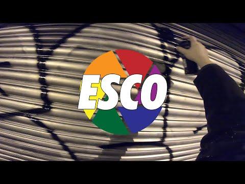 "Graffiti Bombing | Shutter Speed ""ESCO"" (Barcelona, ES)"