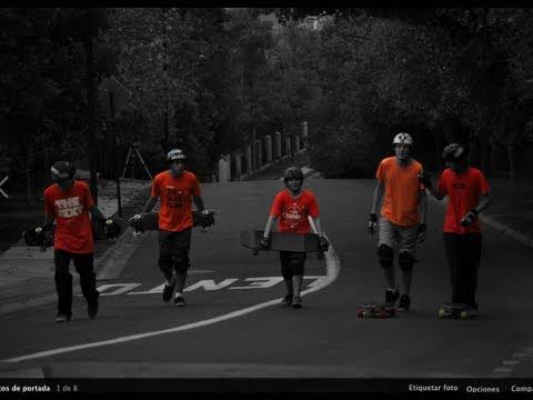 Longboard Chile: //Black/White/ORANGE\\ The Slide Films
