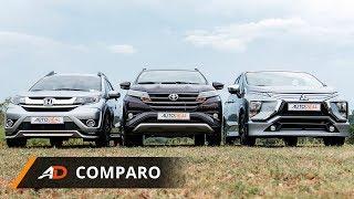 Toyota Rush vs Mitsubishi Xpander vs Honda BR-V - AutoDeal Comparo