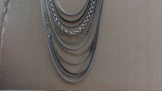 How-to Make a Multi-chain Necklace