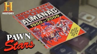 "Pawn Stars: ""Back to the Future II"" Sports Almanac 