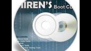 Reset/Remove Admin/User Passwords: Hiren's Boot CD