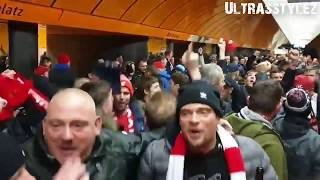 Fantastic Liverpool support at Bayern München