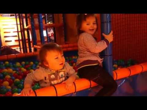 Indoor Playground  Fun Pool with balls for kids  sala zabaw kulki