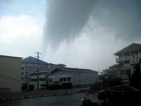 Ocean City Tornado runs us over