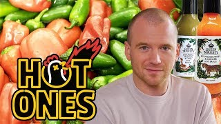 How to Make Hot Sauce   Hot Ones Extra