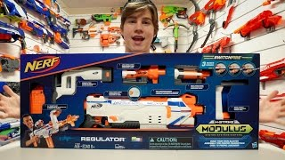 Nerf N-Strike Modulus Regulator Unboxing and Quick Look