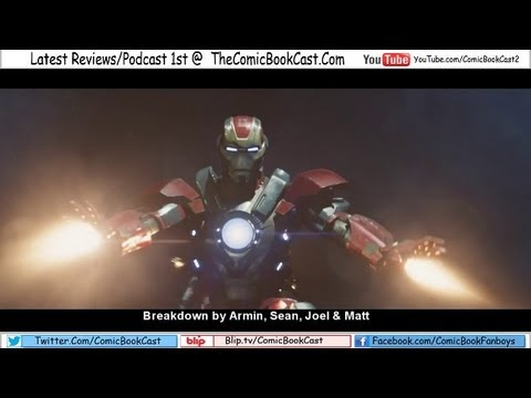 Iron-Man 3 Trailer 3 BREAKDOWN