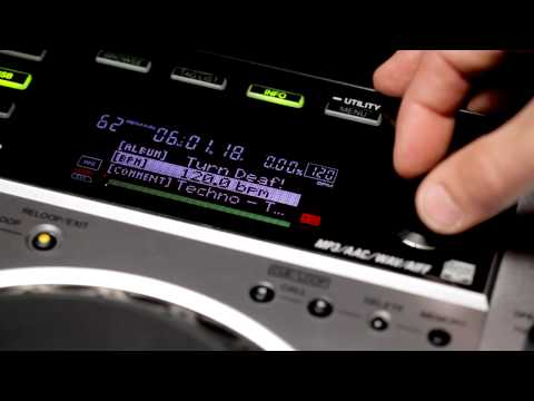 Pioneer CDJ-850 Official Introduction